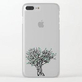 Spring آمد بهار جانها ای شاخ تر برقصا Clear iPhone Case