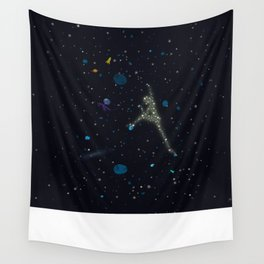 climbing non stop! Wall Tapestry