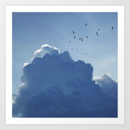 Clouds 'o' Clouds Art Print