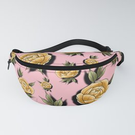 Peony Paradise Pink Fanny Pack