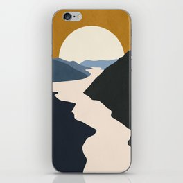 Abstract Art / Landscape 5 iPhone Skin