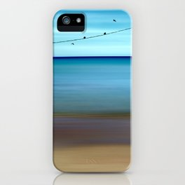 Cretan Sea & Birds II iPhone Case