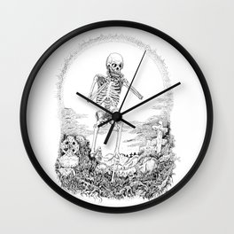 Death and Harmonica Wall Clock