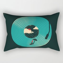 Songs for a Rainy Day Rectangular Pillow