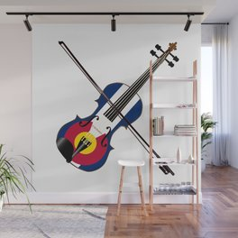 Colorado Fiddle Wall Mural