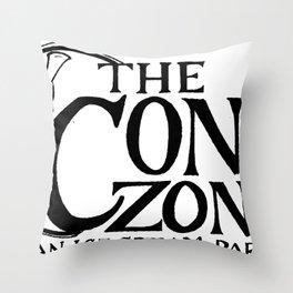 Cone Zone Ice Cream Parlor Throw Pillow