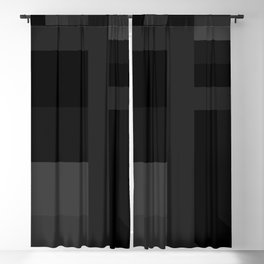 stripes pattern 9 geometric gr Blackout Curtain