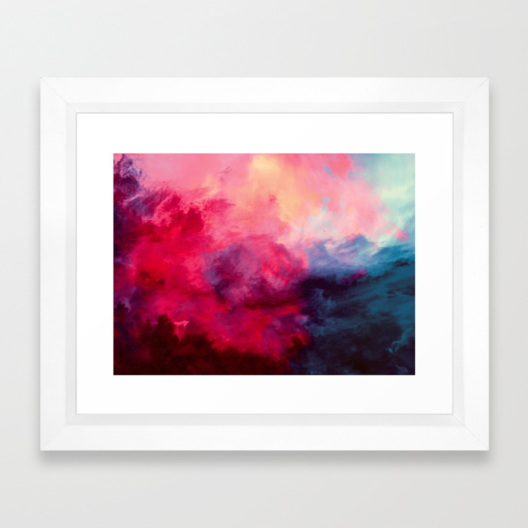 Abstract Framed Art Prints | Society6