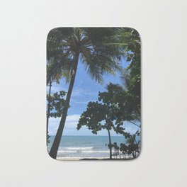 Queensland Australia beach Bath Mat