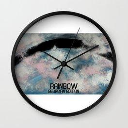 Georgian rainbow Wall Clock