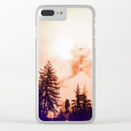 It Has Been A Hectic Morning Clear iPhone Case