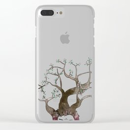 In Your Head Clear iPhone Case