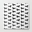 Dachshund Pattern by antiqueimages