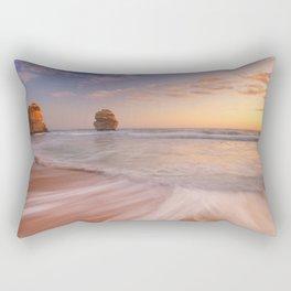 II - Twelve Apostles on the Great Ocean Road, Australia at sunset Rectangular Pillow
