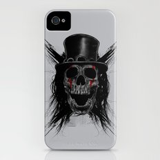 Skull Hat iPhone (4, 4s) Slim Case