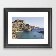 This sea is around us Framed Art Print