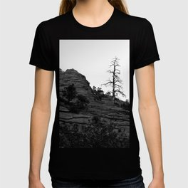 Lone Tree Zion Black and White T-shirt
