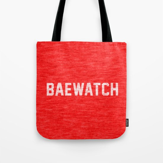 Baewatch Tote Bag