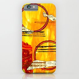 Music of Orbs iPhone Case