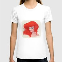 little mermaid T-shirts featuring Little Mermaid by Lucile MacBernik