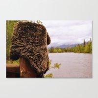 montana Canvas Prints featuring Montana by Katie Pietrantonio