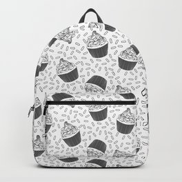 Coloring Book Cupcakes and Sprinkles Backpack