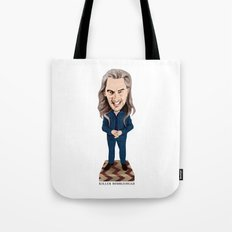 Killer Bobblehead Tote Bag