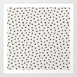 Perfect Polka Dots Art Print