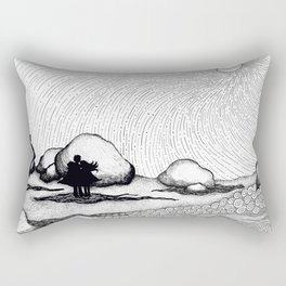Selkie Beach Rectangular Pillow