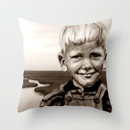"""charly - """"nordisch by nature"""" Throw Pillow"""