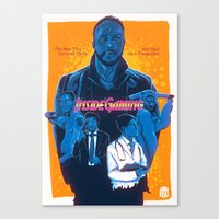 inside gaming Canvas Prints featuring Inside Gaming: When Ebola Strikes by Haizeel Hashnan