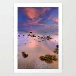 """Bolonia beach III"" Art Print"