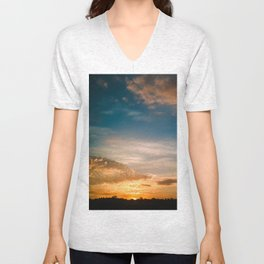 Where the sun rises Unisex V-Neck