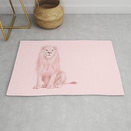 PINK LION Rug