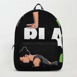 Yoga Planking Backpack