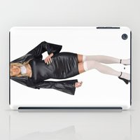 nicolas cage iPad Cases featuring Nun-olas Cage by SharkNoises