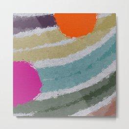 *Colors* Metal Print