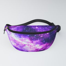 Purple Galaxy : Celestial Fireworks Fanny Pack