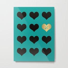 Pattern Ally A Metal Print