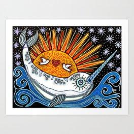 Narval Art Print