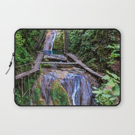 Valley of 33 waterfalls Laptop Sleeve