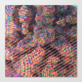 Explosive Popcorn Gum (Bigger) Canvas Print