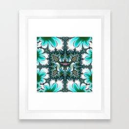 Fractal Rectangle Framed Art Print