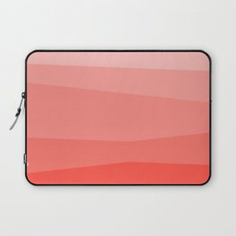 Diagonal Living Coral Gradient Laptop Sleeve