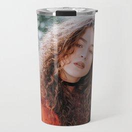 The Woman Sees Through You Travel Mug