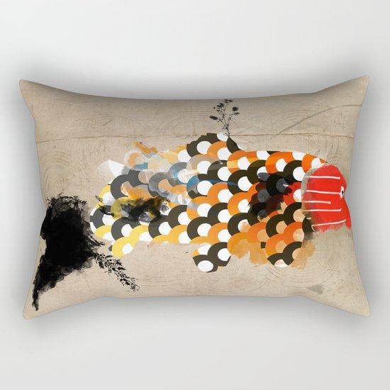 carp_koi_ink Rectangular Pillow