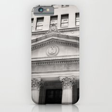 Federal Reserve Bank of Chicago Black and White Slim Case iPhone 6s
