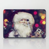 santa iPad Cases featuring Santa by ThePhotoGuyDarren