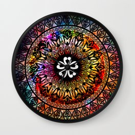 Cosmic Indulgence Wall Clock