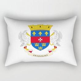 flag of Saint Barthelemy Rectangular Pillow
